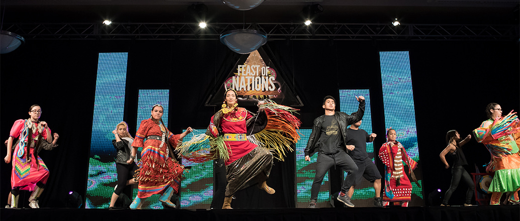 Performs at UND Feast of Nations event