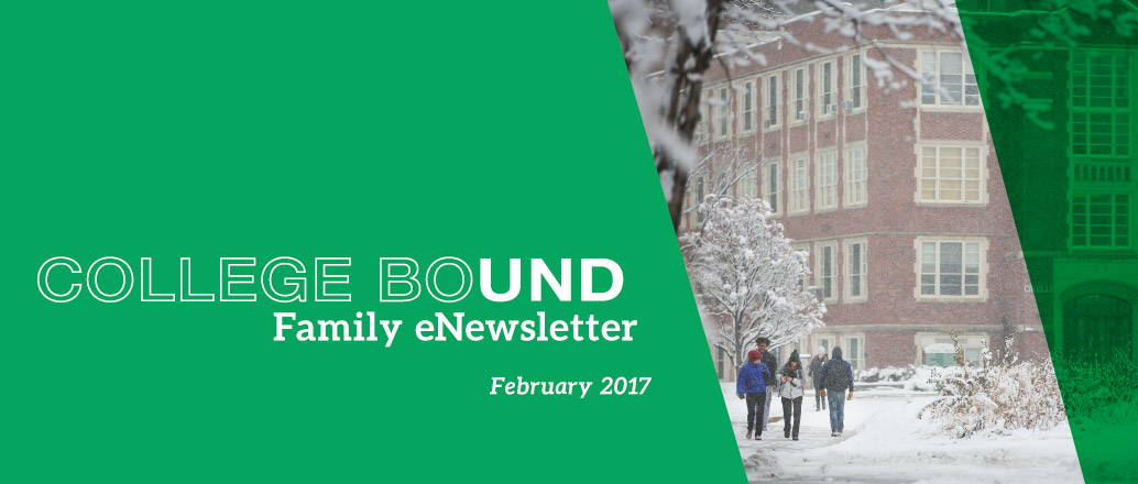 UND Family College Bound eNewsletter