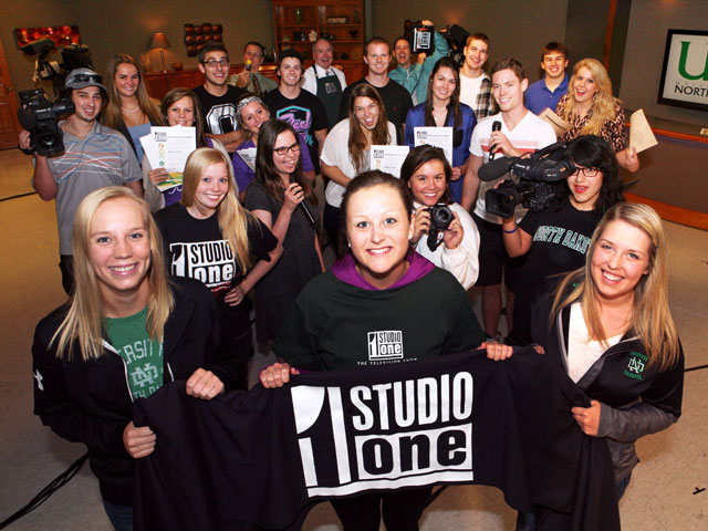 Interns at Studio One apply what they learn in class to real world experiences.