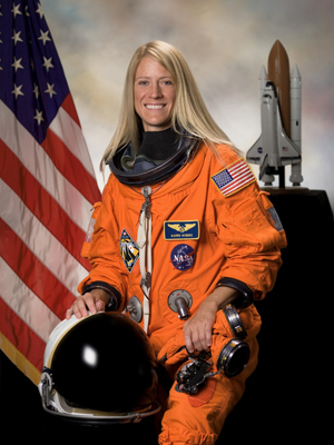 Astronaut and UND alumna Karen Nyberg has been aboard the International Space Station since May 28.